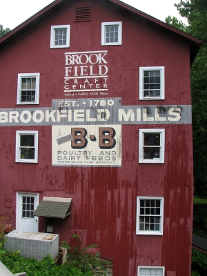 Brookfield Craft Center<br>photo by Jan Mann - <i>Cruising Connecticut with a Picnic Basket</i>