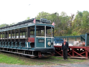 Connecticut Trolley Museum, East Windsor<br>photo by Jan Mann - <i>Cruising Connecticut with a Picnic Basket</i>