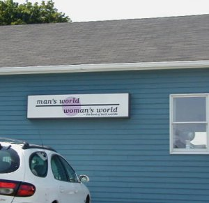 Man's World Woman's World