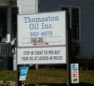 Thomaston Oil Co