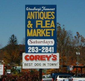 Woodbury Famous Antiques & Flea Market
